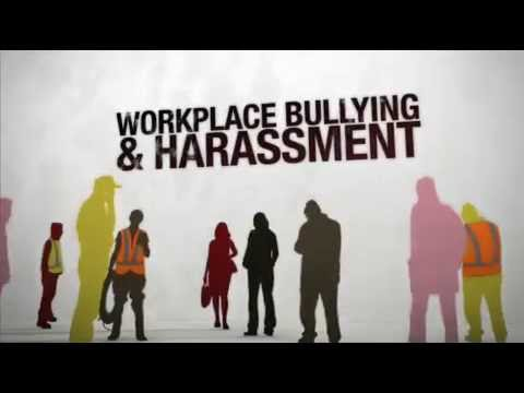 Bullying harassment video health safety for Bullying and harassment policy template